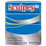 Sculpey III   2 oz - Blue