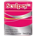 Sculpey III   2 oz - Red