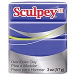 Sculpey III   2 oz - Purple