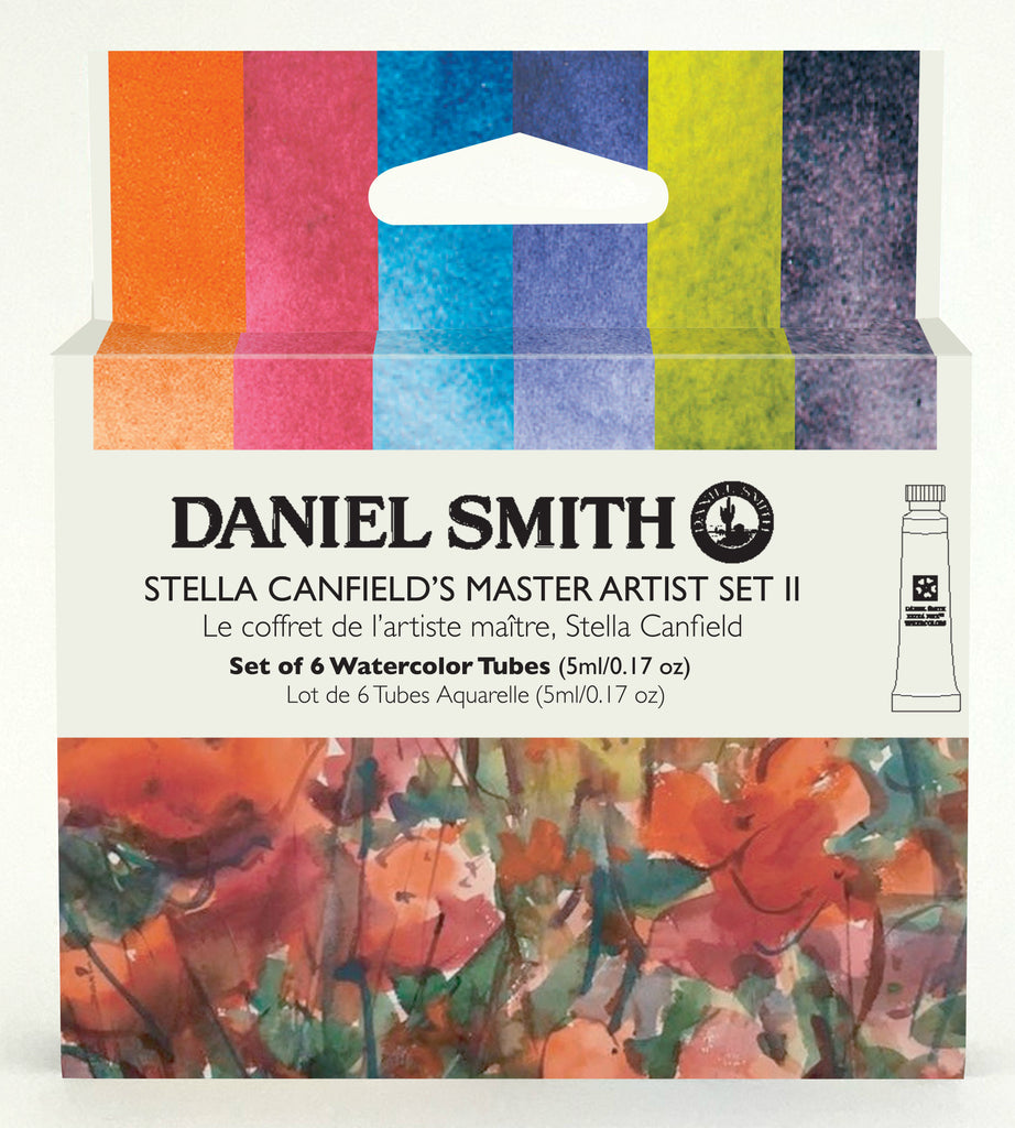 Daniel Smith Watercolor 6 Color Stella Canfield's Master Artist Set #2 (6 X 5ml tubes)
