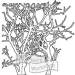 Crafters Workshop Stencil 6X6 - Branches