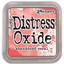 Tim Holtz Distress Oxide Stamp Pad - Abandoned Coral