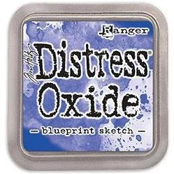 Tim Holtz Distress Oxide Stamp Pad - Blueprint Sketch