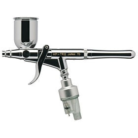Iwata Revolution HP-TR2 Trigger Grip Airbrush w/pistol grip filter
