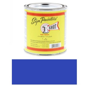 1 Shot Lettering Enamel 8 fl oz - Light Blue