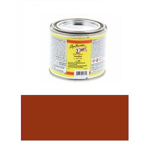1 Shot Lettering Enamel 4 fl oz - Medium Brown