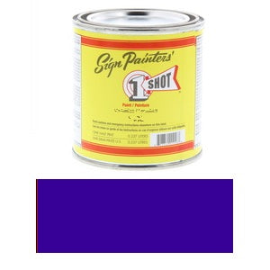 1 Shot Lettering Enamel 8 fl oz - Brilliant Blue
