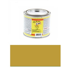 1 Shot Lettering Enamel 4 fl oz - Metallic Brass