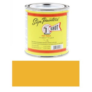 1 Shot Lettering Enamel 8 fl oz - Immitation Gold