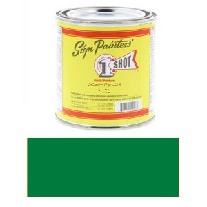1 Shot Lettering Enamel 8 fl oz - Process Green
