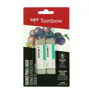 Tombow MONO Sand Eraser 2 Pack