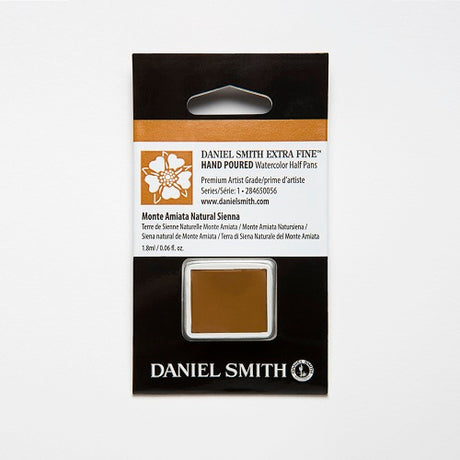 Daniel Smith Extra Fine Watercolor Half Pan - Monte Amiata Natural Sienna