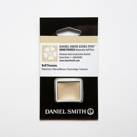 Daniel Smith Extra Fine Watercolor Half Pan - Buff Titanium