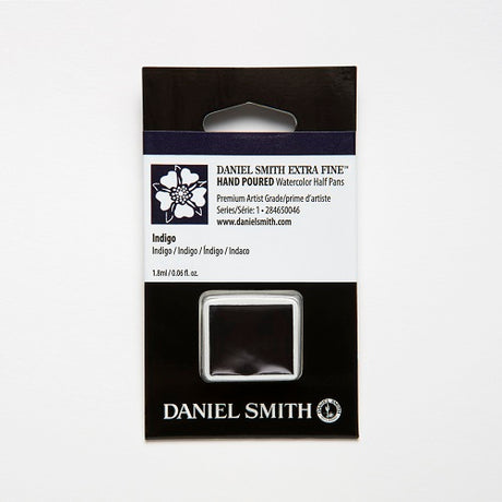 Daniel Smith Extra Fine Watercolor Half Pan - Indigo