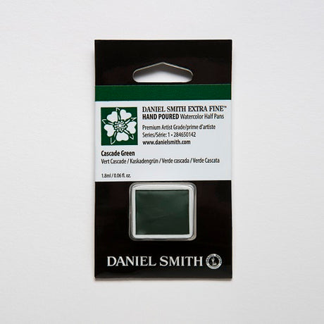 Daniel Smith Extra Fine Watercolor Half Pan - Cascade Green