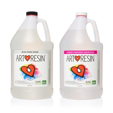 ArtResin Epoxy Coating 2 gallon Kit