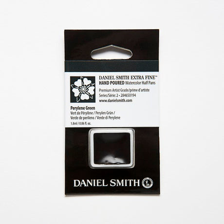 Daniel Smith Extra Fine Watercolor Half Pan - Perylene Green
