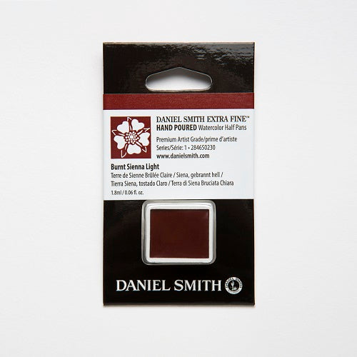 Daniel Smith Extra Fine Watercolor Half Pan - Burnt Sienna Light