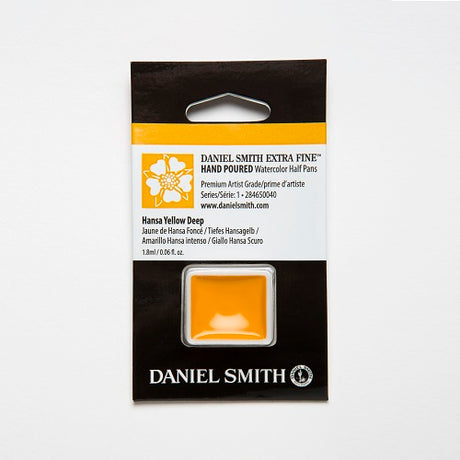 Daniel Smith Extra Fine Watercolor Half Pan - Hansa Yellow Deep