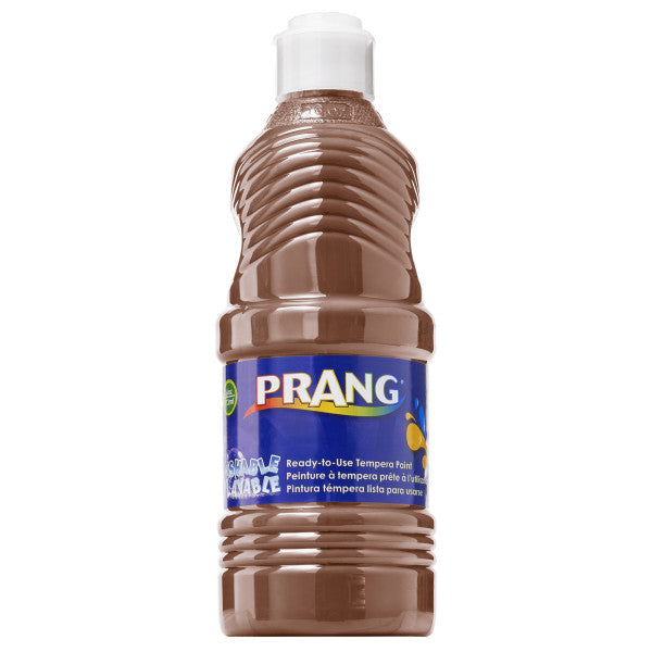 Prang Washable Tempera Paint 16 fl oz - Brown