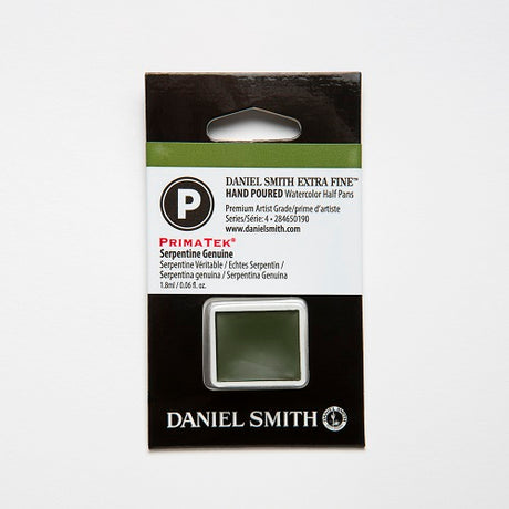 Daniel Smith Extra Fine Watercolor Half Pan - Serpentine Genuine