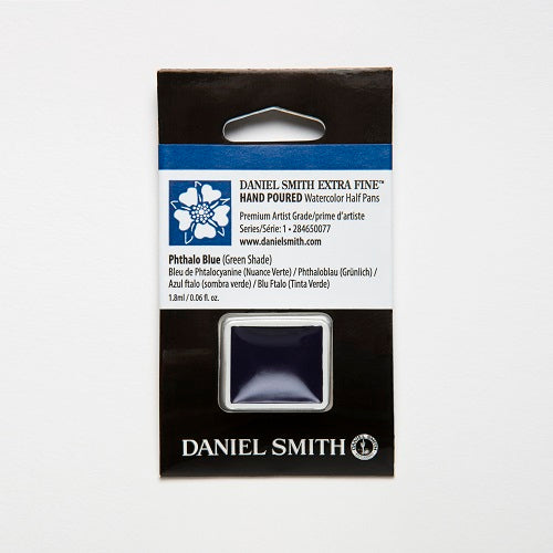 Daniel Smith Extra Fine Watercolor Half Pan - Phthalo Blue (Green Shade)