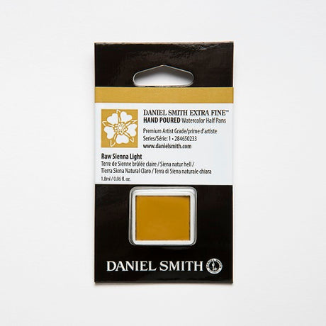 Daniel Smith Extra Fine Watercolor Half Pan - Raw Sienna Light