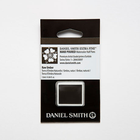 Daniel Smith Extra Fine Watercolor Half Pan - Raw Umber