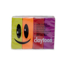 Van Aken Claytoon Clay Hot Set - Magenta, Neon Orange, Rose, Yellow