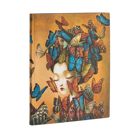 "Paperblanks Flexi Madame Butterfly Ultra 7""x 9""  Unlined -  176 page"