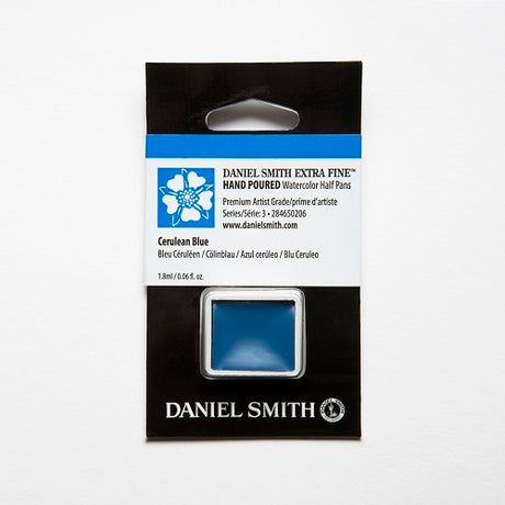 Daniel Smith Extra Fine Watercolor Half Pan - Cerulean Blue