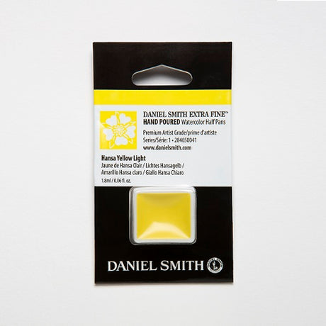 Daniel Smith Extra Fine Watercolor Half Pan - Hansa Yellow Light