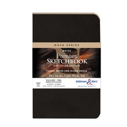 "Stillman & Birn Nova Series Soft-Cover Sketch Book - Beige Paper 5.5"" x 8.5"