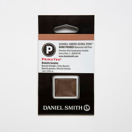 Daniel Smith Extra Fine Watercolor Half Pan - Bronzite Genuine