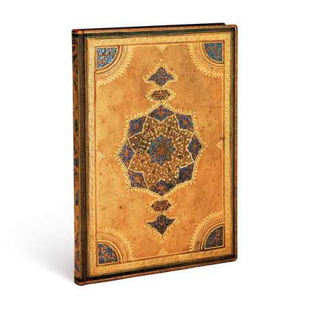 "Paperblanks Flexi Safavid Midi 5""x 7""  Unlined -  176 Pages"