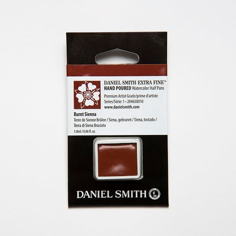 Daniel Smith Extra Fine Watercolor Half Pan - Burnt Sienna