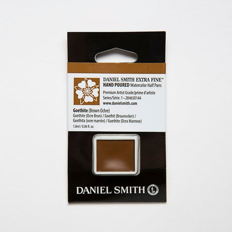 Daniel Smith Extra Fine Watercolor Half Pan - Goethite (Brown Ochre)