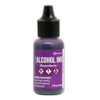 Tim Holtz Alcohol Ink .5oz - Boysenberry (new color!)