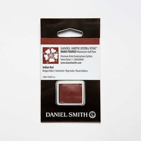 Daniel Smith Extra Fine Watercolor Half Pan - Indian Red