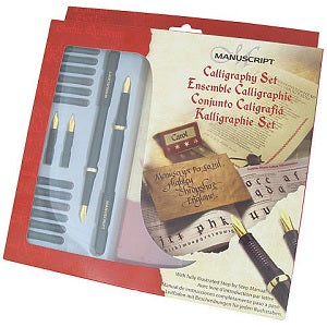 Manuscript Technical Masterclass Calligraphy Set
