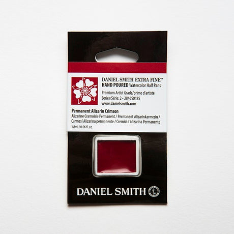 Daniel Smith Extra Fine Watercolor Half Pan - Permanent Alizarin Crimson