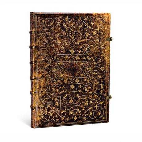 "Paperblanks Grolier Ornamentali Grande 8.25"" X 11.75"" Unlined - 240 Pages"
