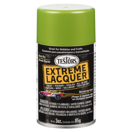 Testors Extreme (one coat) Spray Lacquer 3 oz - Lime Ice (ORM-D)