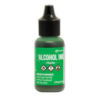 Tim Holtz Alcohol Ink .5oz - Mojito (new color!)