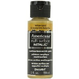DecoArt Americana Multi-Surface 2oz - Muted Gold