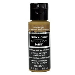 DecoArt Americana Multi-Surface 2oz - Brown Sugar