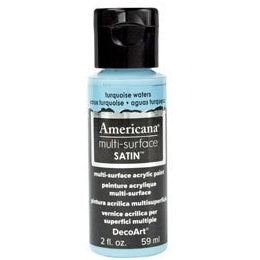 DecoArt Americana Multi-Surface 2oz - Turquoise Waters