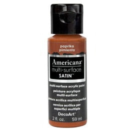 DecoArt Americana Multi-Surface 2oz - Paprika