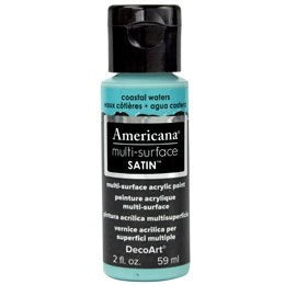 DecoArt Americana Multi-Surface 2oz - Coastal Waters