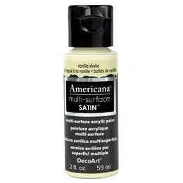 DecoArt Americana Multi-Surface 2oz - Vanilla Shake